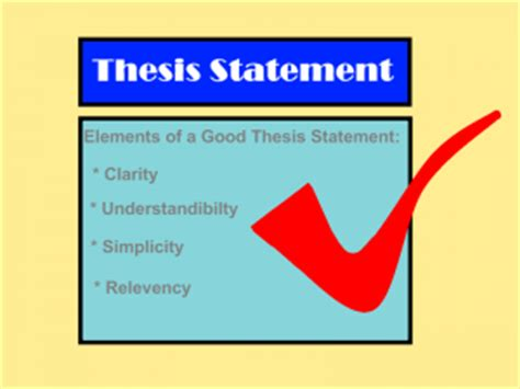 Thesis statement for education systems